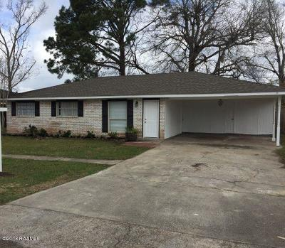 Lafayette Single Family Home For Sale: 204 Eula Drive