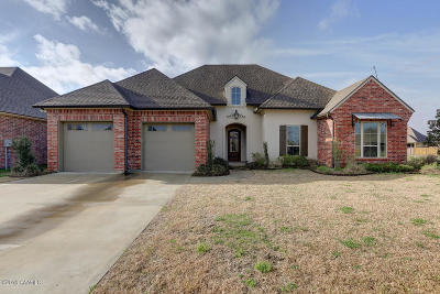 Broussard Single Family Home For Sale: 107 Inlet Drive