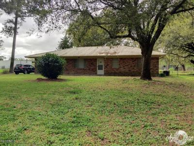 Rayne Single Family Home For Sale: 2049 Bayou Plaquemine Road