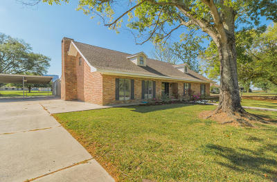St. Martinville Single Family Home For Sale: 1005 A Courville Road