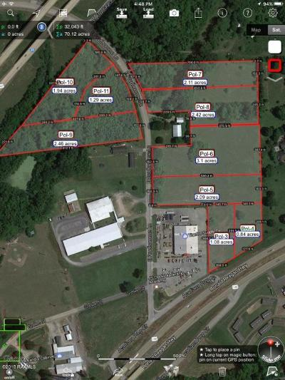 St Martinville, Breaux Bridge, Opelousas Residential Lots & Land For Sale: 1547 E Prudhomme Road