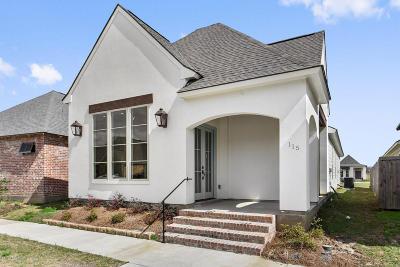Lafayette Single Family Home For Sale: 115 Keelingwood Lane