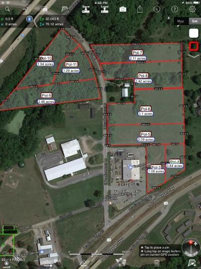 St Martinville, Breaux Bridge, Opelousas Residential Lots & Land For Sale: 1591 E Prudhomme Lane