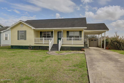Jeanerette Single Family Home For Sale: 110 Caribbean Drive