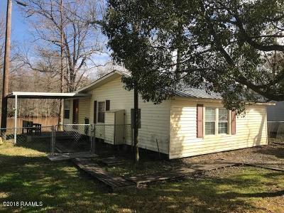 Port Barre Single Family Home For Sale: 202 Dupre Lane
