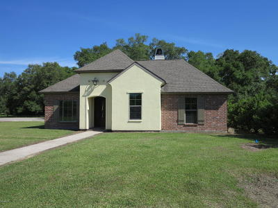 Abbeville Single Family Home For Sale: 12406 Beau Soleil Dr Drive #1