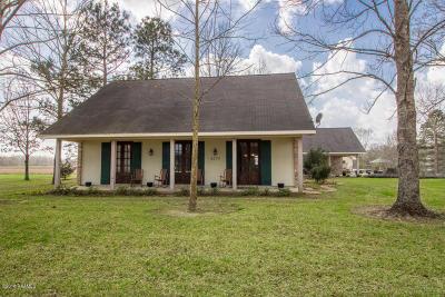 Vermilion Parish Single Family Home For Sale: 4274 Woodlawn Road