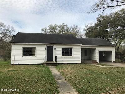 Eunice Single Family Home For Sale: 301 N Beulah Street