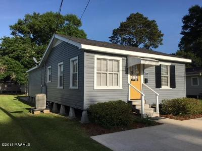 Rayne Single Family Home For Sale: 904 Louisa Avenue