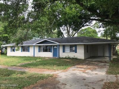 Eunice Single Family Home For Sale: 250 E Vine Street