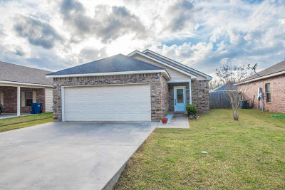 Carencro Single Family Home For Sale: 210 Sunflower Estates Lane