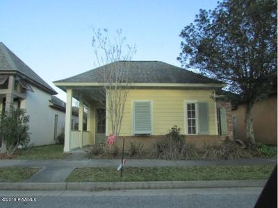 Youngsville Rental For Rent: 110 Barton Terrace