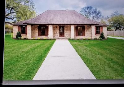 Lafayette Parish Single Family Home For Sale: 131 Teche