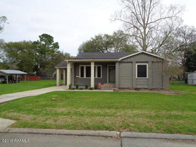 New Iberia Single Family Home For Sale: 114 Decuir