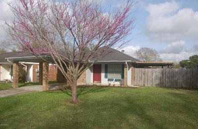 Lafayette Single Family Home For Sale: 211 Cheticamp Drive