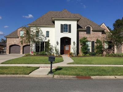Lafayette Single Family Home For Sale: 111 Lefleur Circle
