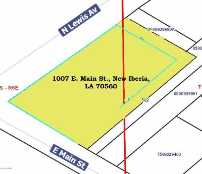 New Iberia Residential Lots & Land For Sale: 1007 E Main