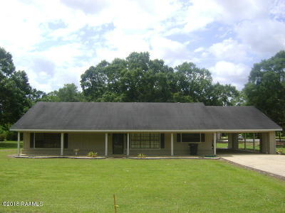 Maurice Single Family Home For Sale: 9735 Baudoin Pvt Road