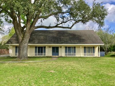 Crowley Single Family Home For Sale: 10 Bayou Oaks