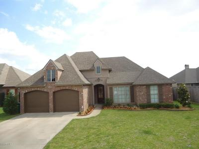 Broussard Single Family Home For Sale: 104 Majestic Oak Drive