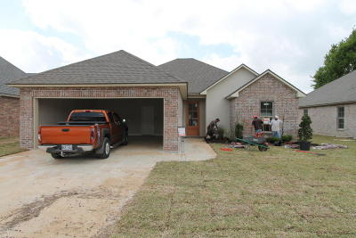 Carencro  Single Family Home For Sale: 109 Safe Haven Drive