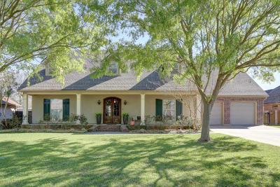 Lafayette Parish Single Family Home For Sale: 206 Jehnna Dave Drive