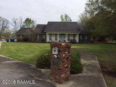 Lafayette Single Family Home For Sale: 307 Wood Duck Drive