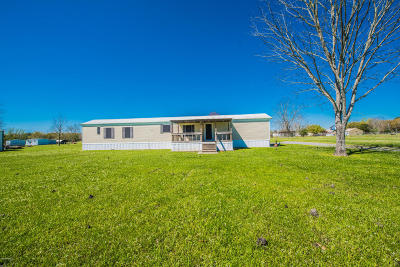 Breaux Bridge Single Family Home For Sale: 1156 Gecko Rd