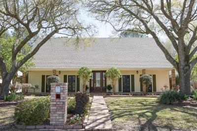 New Iberia Single Family Home For Sale: 704 Oak Manor Drive