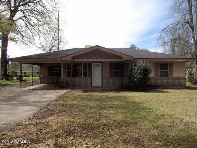 Carencro Single Family Home For Sale: 502 Tee Ma Road