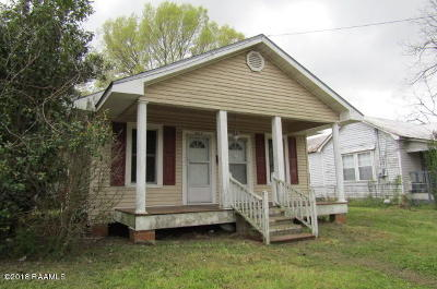 Opelousas Single Family Home For Sale: 422 E North Street