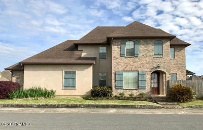 Lafayette Single Family Home For Sale: 400 Harbor Bend Boulevard