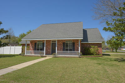 Lafayette Single Family Home For Sale: 202 Billy Lou Drive