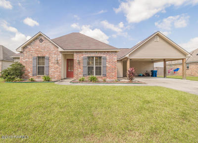 Carencro  Single Family Home For Sale: 202 Landsdowne Way