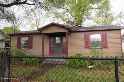 Eunice Single Family Home For Sale: 511 N Cc Duson Street