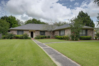 New Iberia Single Family Home For Sale: 812 Briarwood Drive