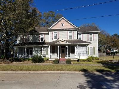 Jennings Single Family Home For Sale: 214/219 W Plaquemine