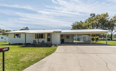 Carencro  Single Family Home For Sale: 133 Arceneaux Road