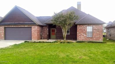 Single Family Home For Sale: 1008 Bergeron Rigs