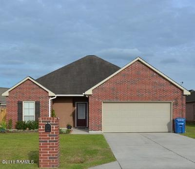 Carencro Single Family Home For Sale: 112 Sunny Oak Trail