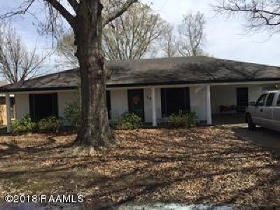 Carencro Single Family Home For Sale: 109 Avanti Drive