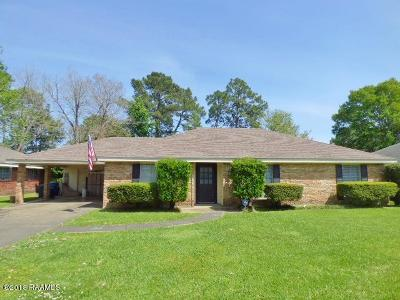 Lafayette  Single Family Home For Sale: 233 Orangewood Drive