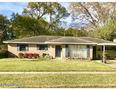 Eunice Single Family Home For Sale: 1350 Faris Street