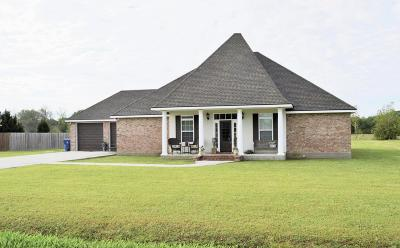 Vermilion Parish Single Family Home For Sale: 12511 Aube Drive