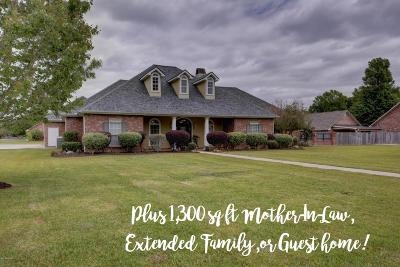 Sunset Single Family Home For Sale: 211 Morning Mist Drive