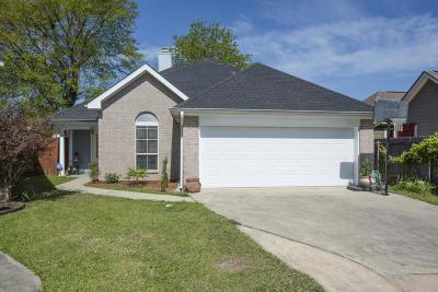 Lafayette Single Family Home For Sale: 121 Caladium Court