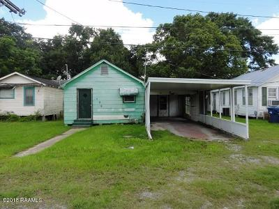Kaplan Single Family Home For Sale: 408 N Morvant