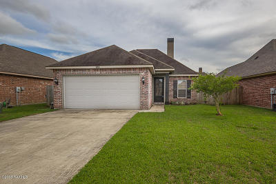 Carencro Single Family Home For Sale: 104 Scarlet Oak Drive