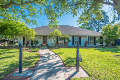 Lafayette Single Family Home For Sale: 610 Colonial Drive