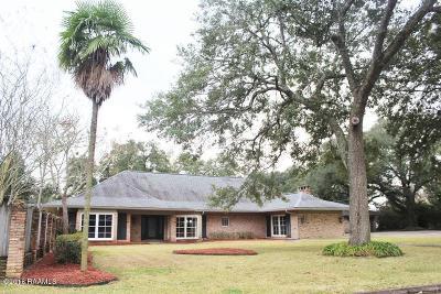 St Martinville, Breaux Bridge, Opelousas Single Family Home For Sale: 219 W White Street